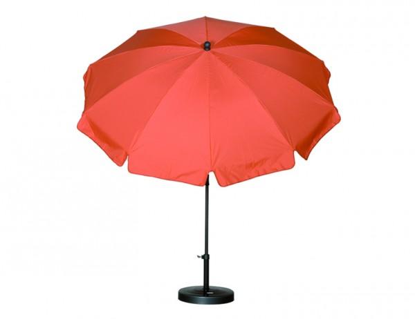 SIENA GARDEN Schirm 200/8t. Poly terra Gest anthr/Pol terr UV+50