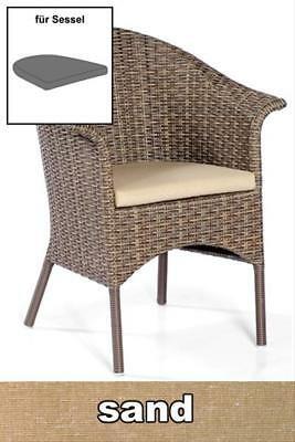 Sitzkissen für Sessel Solares Dessin classic-sand SonnenPartner