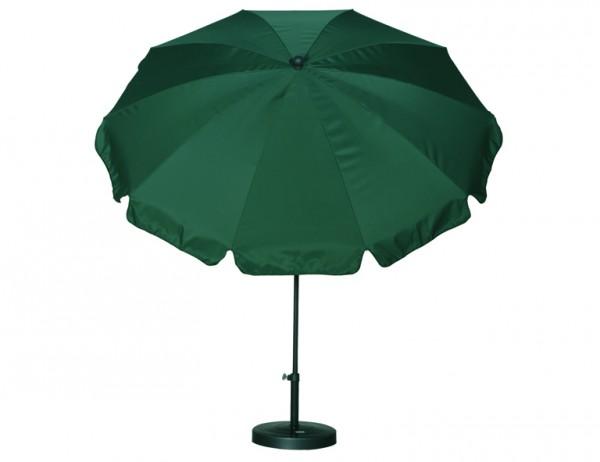 SIENA GARDEN Schirm 250/10t.Poly grün Gest anthr/Pol grün UV+50