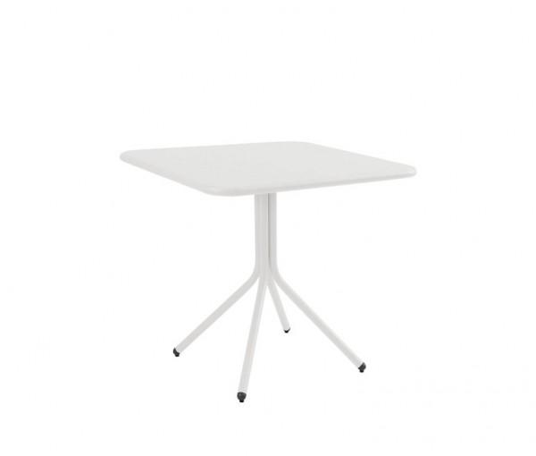 Emu Tisch Quadratisch Klappbar 80x80 Yard Weiss Gartentische Grosse