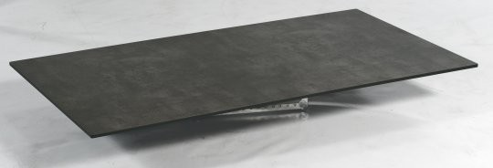 "SonnenPartner Tischplatte ""Compact"" HPL Beton dunkel"
