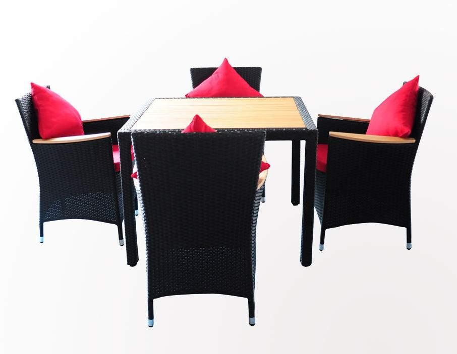 Polyrattan Tischset Online Günstig Kaufen