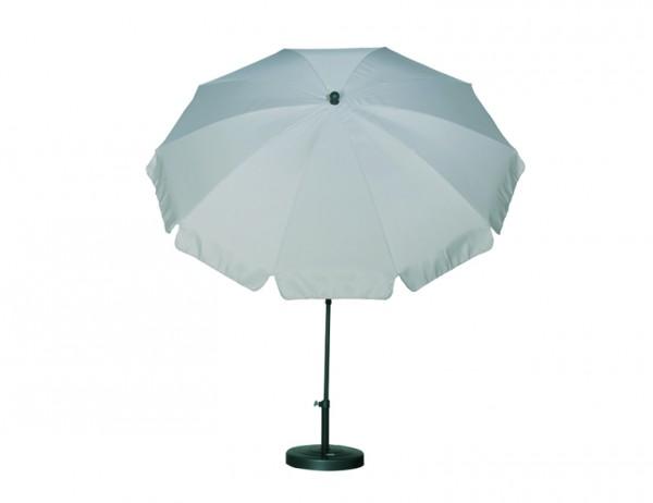 SIENA GARDEN Schirm 200/8t. Poly natur Gest anthr/Pol nat. UV+50